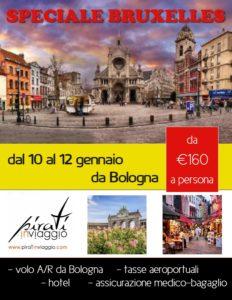 Super offerta Bruxelles da Bologna