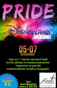Disneyland Paris Pride – Seconda edizione