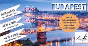 Weekend a Budapest da €230