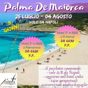 11 giorni a Palma De Maiorca da Napoli