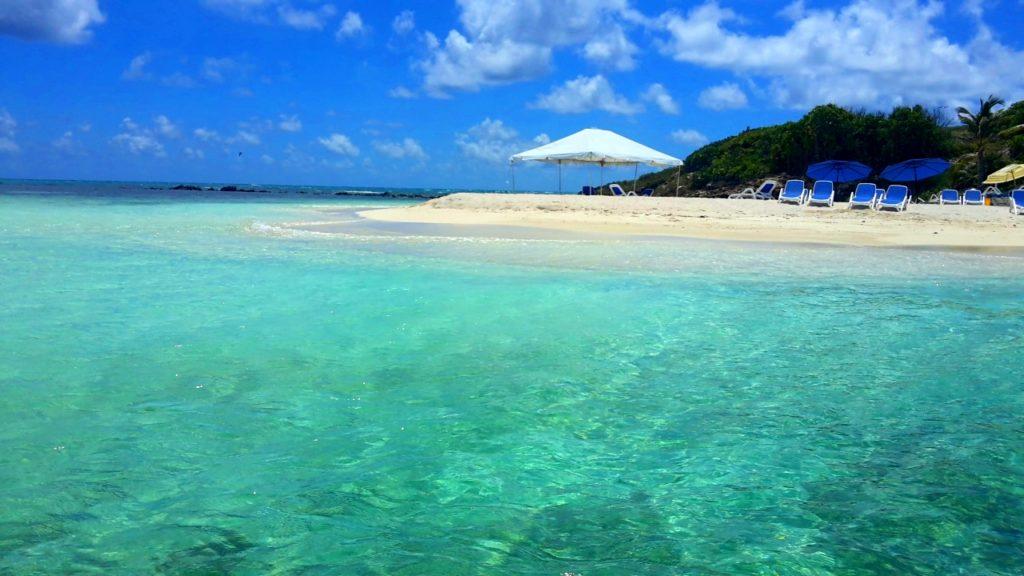 Isolotto di Prickly Pear Island Antigua