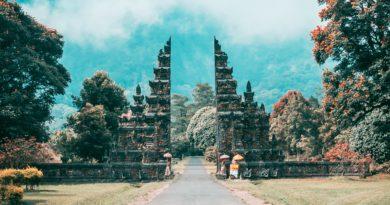 Le porte del Paradiso nell'Isola di Bali