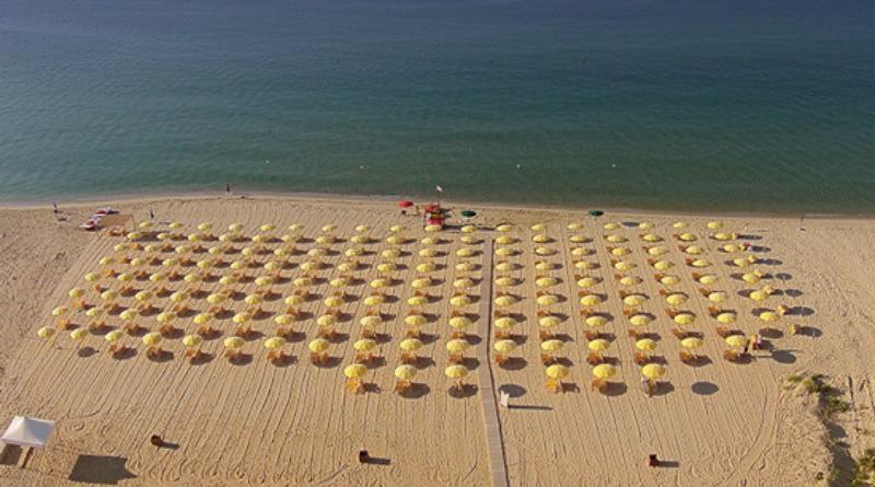 Spiaggia del Resort Marina del Marchese in Calabria