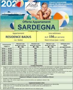 Sardegna in appartamento Summer 2020