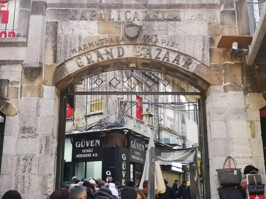 Mercato Gran Bazar di Istanbul