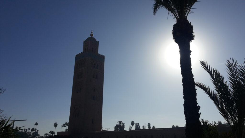marrakesh - minareto